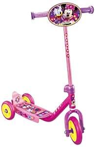 Disney J100044 - Patinete de 3 ruedas, color rosa