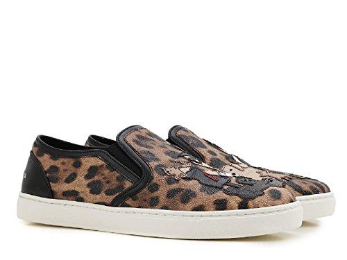 Zapatillas On Cuero Slip CK0028AE3798L290 Mujer Gabbana Dolce E xp6wUqHZqO