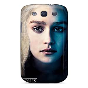 Winvin Premium Protective Hard Case For Galaxy S3- Nice Design - Emilia Clarke Game Of Thrones Season 3
