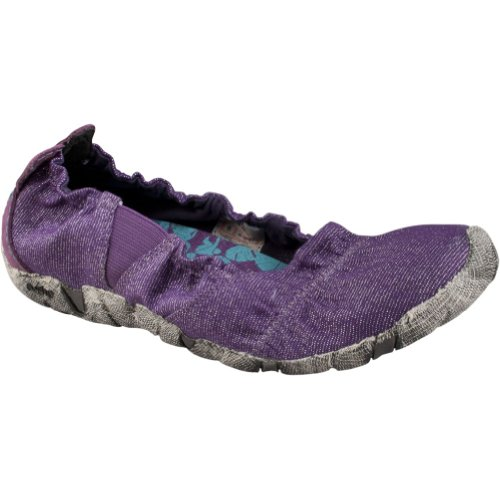 Cushe Mujeres Koa Ballet Flat Purple Metallic