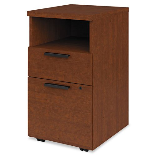 Hon 10500 Series Wood - 10500 Series 2-Drawer Mobile Pedestal Finish: Henna Cherry