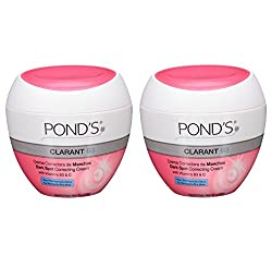 PONDS Clarant B3 Dark Spot Correcting Cream For Normal to Dry Skin 1.75oz Jars (Pack of 2)