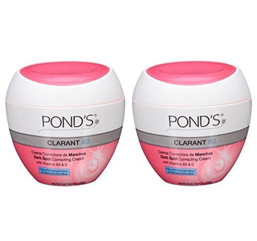 ponds-clarant-b3-dark-spot-correcting-cream-for-normal-to-dry-skin-175oz-jars-pack-of-2