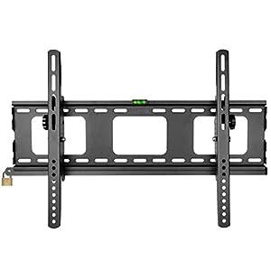 Duronic TVB103M TV Bracket  Wall Bracket Mount Tilting – Lockable – Heavy Duty – –  33″-65″ – Great value for money TV bracket for large TVs.