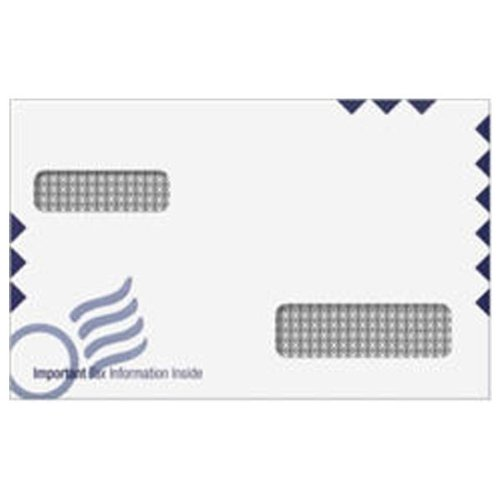 EGP IRS Envelope for ATX Software Tax Forms - 50 Count, 5 5/8 x 9