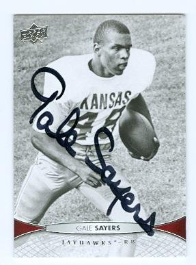 7fcd523869b Image Unavailable. Image not available for. Color  Gale Sayers autographed  ...
