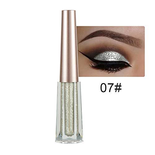 Studyset 12 Colors Women Liquid Eyeshadow Sparkling Glow Eyeliner Gel Diamond Pearlescent Shine Colorful Eyeshadow Liquid Eyes Makeup Cosmetics 17#