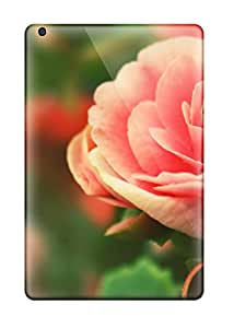 Awesome QIu457QAtv Arnoloy767 Defender Tpu Hard Cases Covers For Ipad Mini- Rose Flower