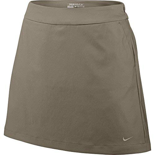 Nike Golf Women's Tech Essentials Classic Plaid Short, Khaki