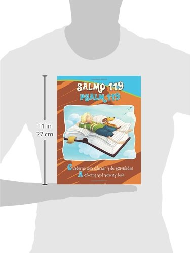 Buy Salmo 119, Psalm 119 - Bilingual Coloring and Activity Book ...