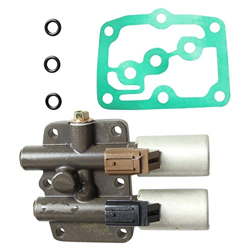 (Transmission Dual Linear Shift Solenoid Gasket For Honda Acura Accord Pilot Prelude Odyssey CL TL)