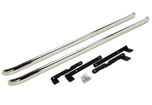 Poliert Chrome Sportline Style Side Schritt Schutz Bar Trittbrett Transporter T5 T6 LWB 2003+
