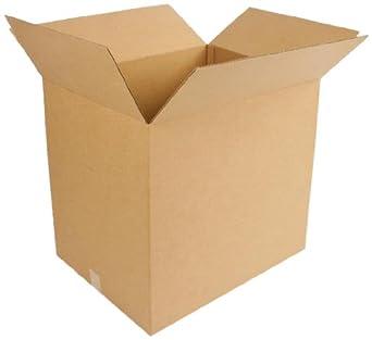 PRATT pra0371 reciclado cartón doble pared resistente caja con flauta de BC, 24 cm de