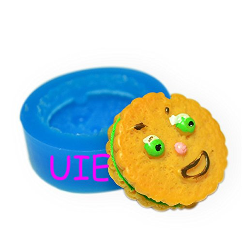256LBQ Funny Face Cookie Mold Happy Face Cookie Mold Smile Face Cookie Silicone Mold 29mm - Bakeware Polymer Clay Mould