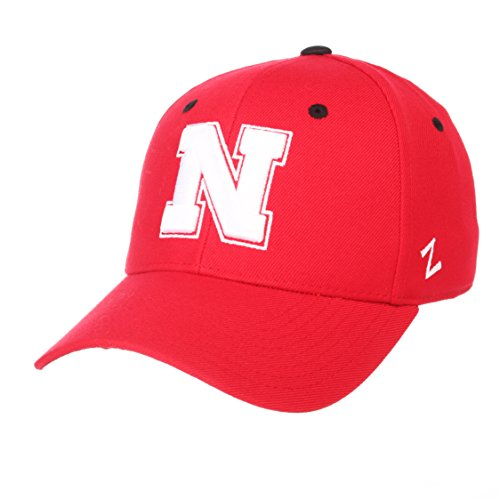 - Zephyr Nebraska Cornhuskers Official NCAA DH Size 7 1/2 Fitted Hat Cap by 629598