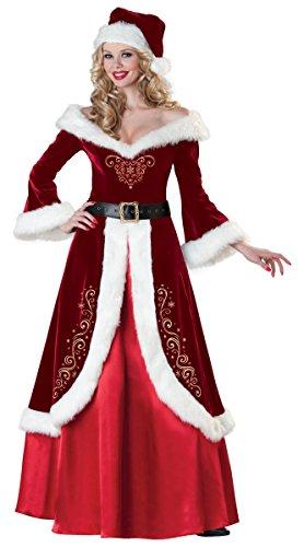 Mrs. St. Nick Adult Costume - Large