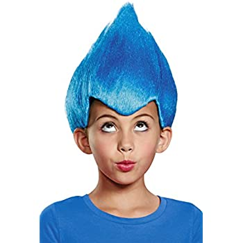 Disguise Blue Wacky Child Wig, One Size Child, One Color