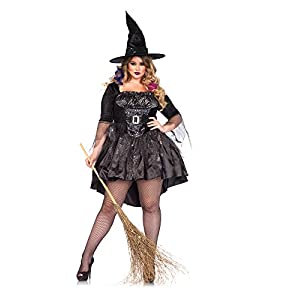 Plus Size Witch Costumes 1x 2x 3x 4x 5x 6x For Sale Funtober Halloween