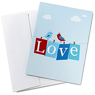 Amazon.com $10 Gift Card in a Greeting Card (Love Design)
