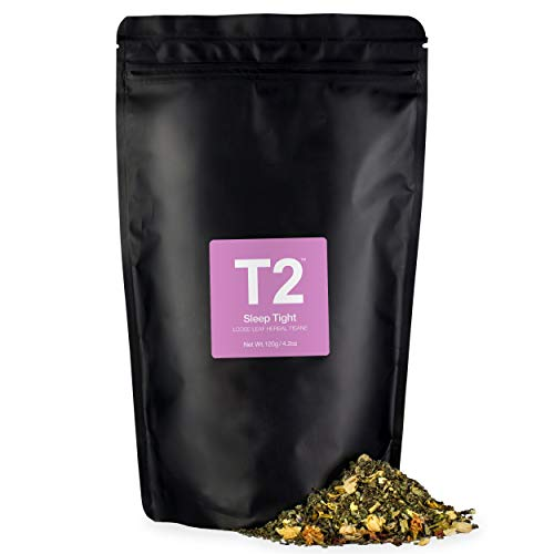 T2 Tea Sleep Tight Loose Leaf Herbal Tea in Resealable Foil Refill Bag, 4.2 Ounce (120g)