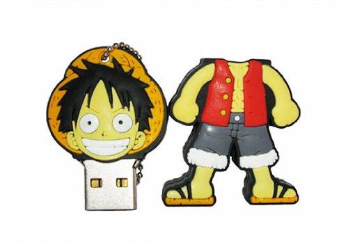 Euroge Tech® 16GB USB Flash Drive Stick One Piece Luffy