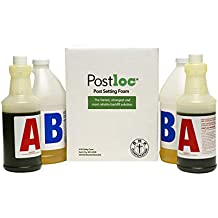 Postloc Post and Pole Setting Foam - 2-Post Kit - Easy to Use Concrete Alternative - No Tools Required