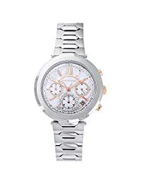 Wittnauer WN4029 Women's Taylor MOP Dial Stainless Steel Chronograph Watch
