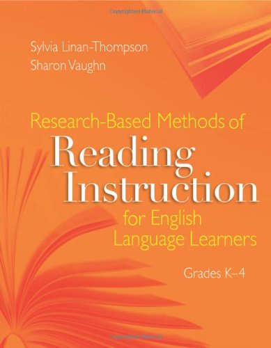 Research-based Methods of Reading Instruction for English Language Learners, Grades ()