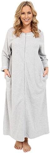 Carole Hochman Women's Plus-Size Plus Size Waffle Knit Zip