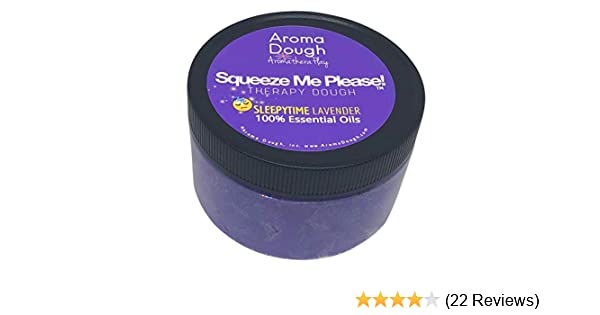 Play Therapy Tools Aroma Dough Sleepytime Lavender Aromatherapy Play Dough Gluten-Free Non-Allergenic Natural Playdough Helps Promote Sleep Sensory Room Equipment