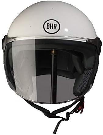 53//54 BHR Mod/èle 710 Casque Demi Jet Blanc