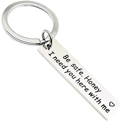AXEN Key Chain Gift, Drive Safe I need you here with me, Style 6