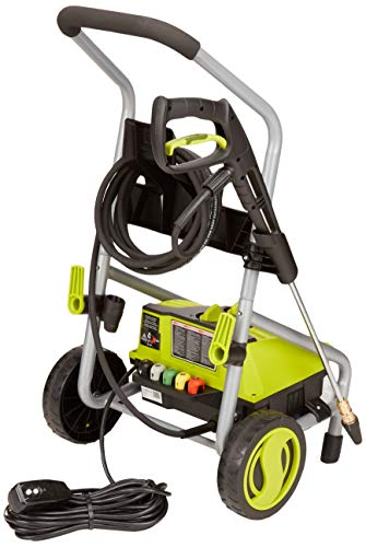 Sun Joe SPX4000-PRO 2030 PSI 1.76 GPM 14.5-Amp Electric Pressure Washer, Green