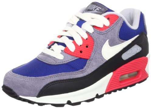 on sale 5f861 271dd NIKE Women s Air Max 90 (Dark Royal Blue Sail-Charcoal-Black) - Buy Online  in Oman.   Shoes Products in Oman - See Prices, Reviews and Free Delivery  in ...