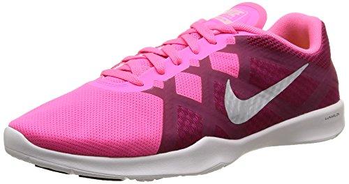 Nike Womens Lunar Lux Tr Scarpa Da Allenamento Rosa Pow / Sport Fucsia / Bianco / Platino