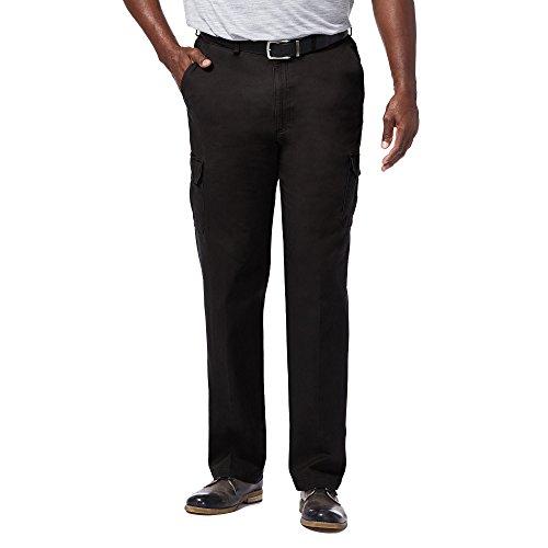 haggar-hc90225-mens-big-tall-stretch-comfort-cargo-pant-black-48-29