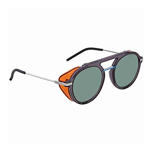 Fendi Fantastic Green Aviator Mens Sunglasses FF M0012/S KB7/QT 52
