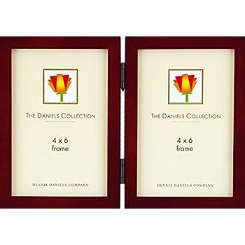 Amazon.com - Dennis Daniels Gallery Woods Hinged Double Vertical ...
