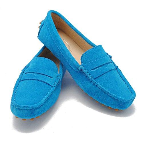 Meijili - Sandalias mujer, color azul, talla 35