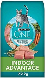 Purina ONE Dry Cat Food, Indoor Advantage 7.2 kg