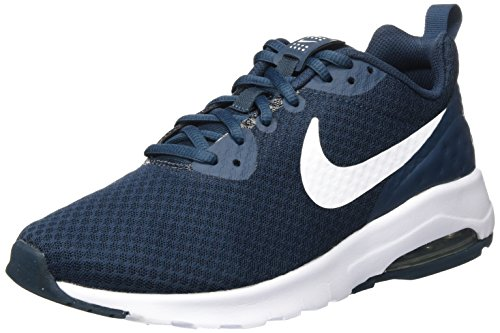Nike Mens Air Max Motion Cross Cross Trainer Armeria Blu / Bianco