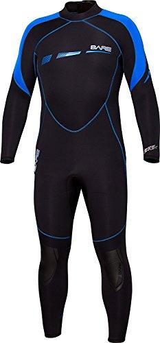 Bare 5mm Sport S-Flex Mens Wetsuit (Medium-Large Short, - Wetsuits Wetsuit Bare