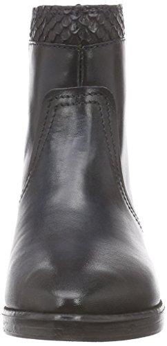 CAFèNOIR Half-Boots - botas de caño bajo de piel mujer azul - Blau (228 BLU)