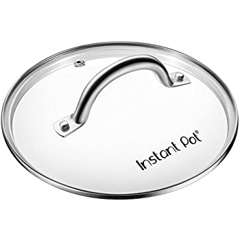 Genuine Instant Pot Tempered Glass lid, Clear – 10 in. (26cm) - 8 Quart