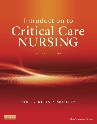 Introduction to Critical Care Nursing Pdf