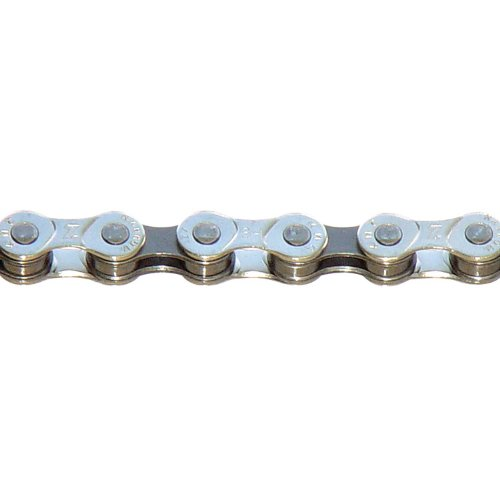 KMC Z7 Bicycle Chain (Silver/Gray, 1/2 x 3/32 - Inch, 116 ()