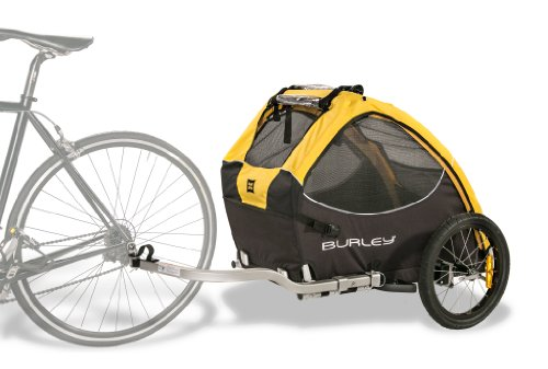 Burley-Design-Tail-Wagon-Bike-Trailer-YellowBlack