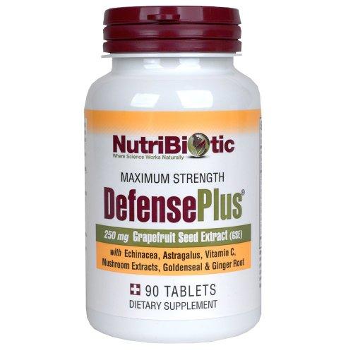 Nutribiotic Defenseplus tabletas, 250 mg, cuenta 90