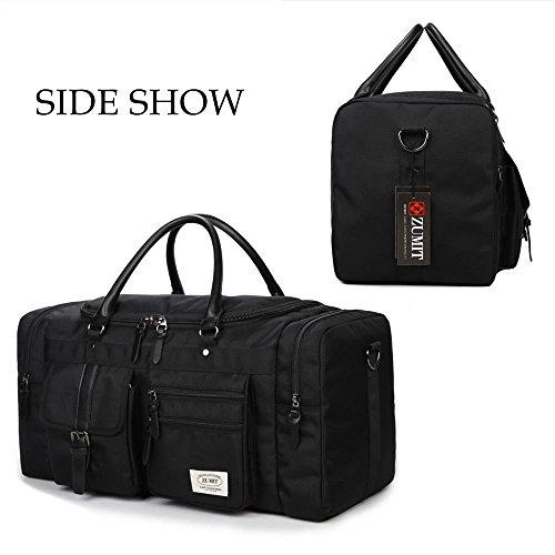ZUMIT 45L Travel Duffel Bag Mens...