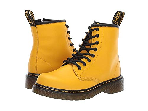 Dr. Martens Kid's Collection Unisex 1460 Delaney Boot (Little Kid/Big Kid) Yellow Romario 3 M UK -